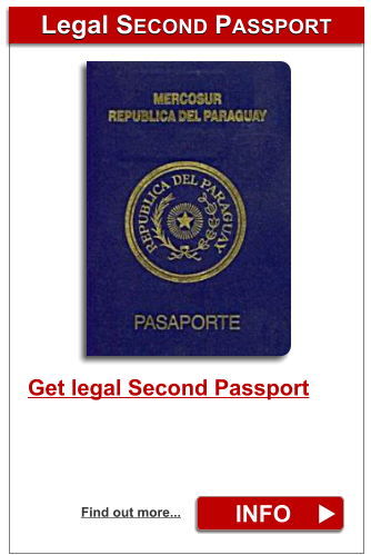 Legal SECOND PASSPORT Legal SECOND PASSPORT INFO Find out more... Get legal Second Passport